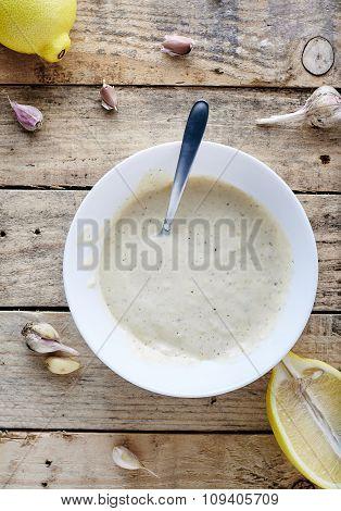 Aioli dip - garlic mayonnaise