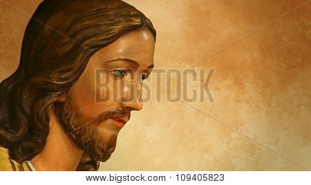 Jesus Of Nazareth Or Jesus Christ Central Figure Of Christianity