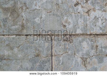 Gray wall close-up