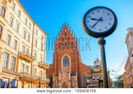 Holy Trinity church in Krakow