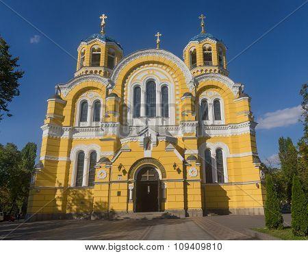 St. Vladimir Cathedral Patriarchal Cathedral. Kiev, Ukraine