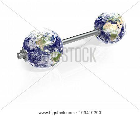 Dumbbells Globe