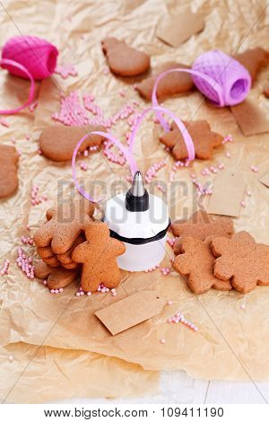 homemade lovely gingerbreads - sweet food