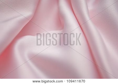 Luxury pink silk background