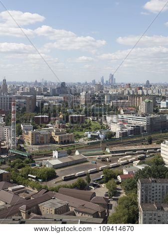 Moscow In The Summer, Russia
