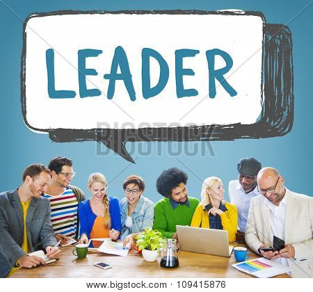 Leader Leadership Management Coaching Concept