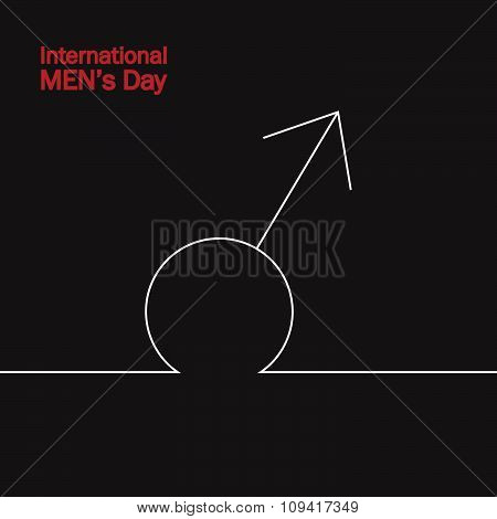 Banner for international men's