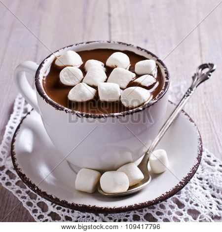 Hot Chocolate With Marshmallow