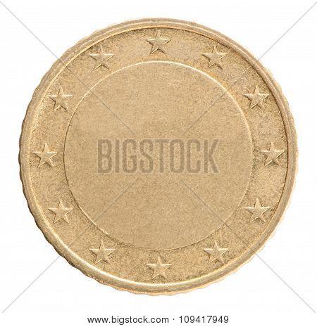 Blank Bronze Coin