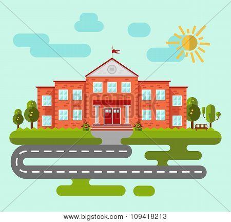 School or university building