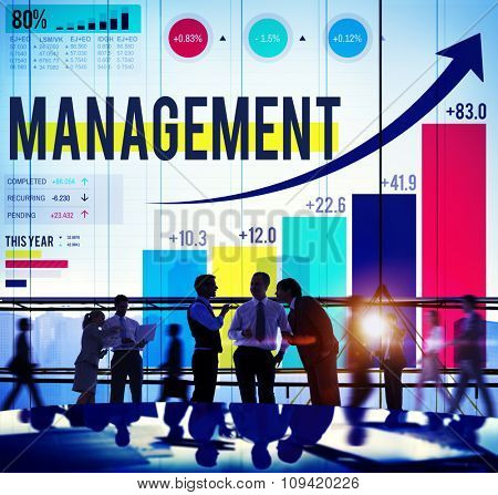 Management Organization Leadership Managing Concept