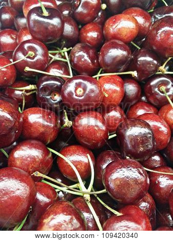 Sweet Red Tempting Cherry
