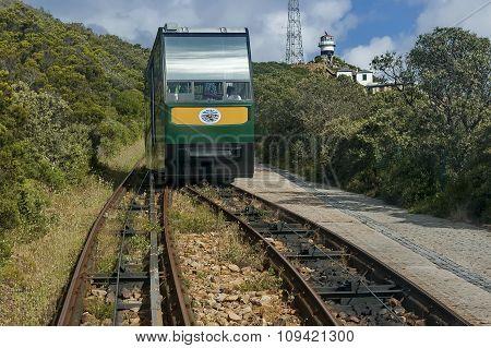 Funicular Flying dutchman railway
