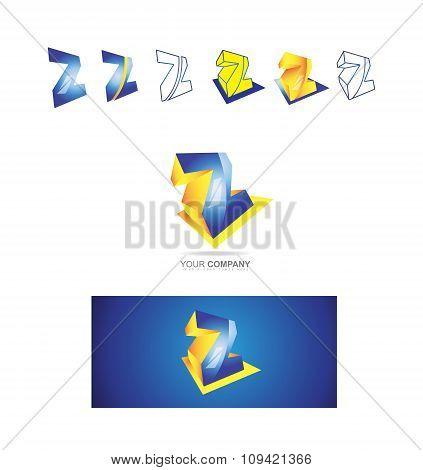 Alphabet Letter Z Logo Icon