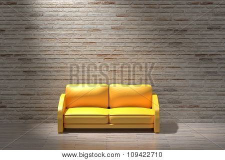 Rustic Room And Sofa
