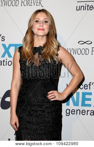 LOS ANGELES - OCT 30:  Julianna Guill at the 2nd Annual UNICEF Masquerade Ball at the Hollywood Forever on October 30, 2014 in Los Angeles, CA