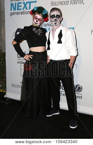 LOS ANGELES - OCT 30:  Eric Ladin at the 2nd Annual UNICEF Masquerade Ball at the Hollywood Forever on October 30, 2014 in Los Angeles, CA