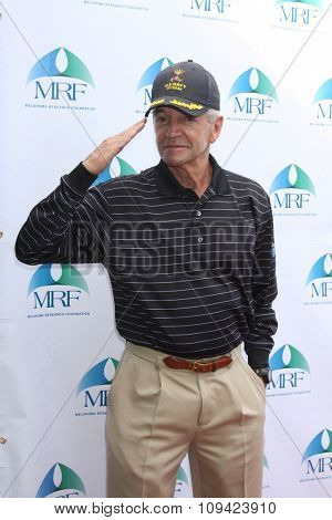 LOS ANGELES - NOV 10:  Tom Dreesen at the Third Annual Celebrity Golf Classic to Benefit Melanoma Research Foundation at the Lakeside Golf Club on November 10, 2014 in Burbank, CA