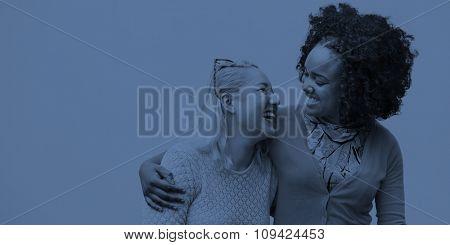 Woman Women Female Friend Friendship Girlfriend Concept