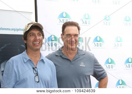 LOS ANGELES - NOV 10:  Ray Romano, Patrick Warburton at the Third Annual Celebrity Golf Classic to Benefit Melanoma Research Foundation at the Lakeside Golf Club on November 10, 2014 in Burbank, CA