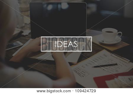 Ideas Inspiration Motivation Creativity Design Concept