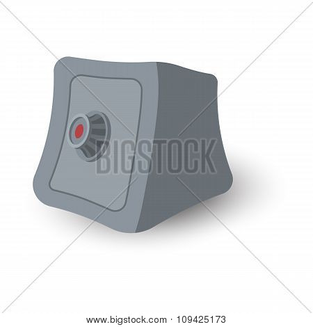 Safe box cartoon illustration