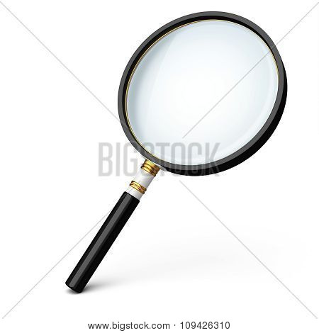 3D Detailed Magnifying Glass