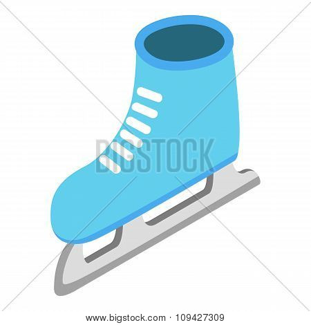 Skates isometric 3d icon