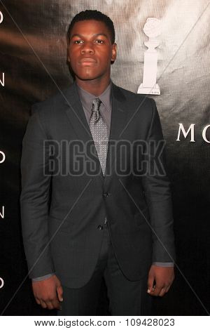 LOS ANGELES - AUG 13:  John Boyega at the HFPA Hosts Annual Grants Banquet - Arrivals at the Beverly Wilshire Hotel on August 13, 2015 in Beverly Hills, CA