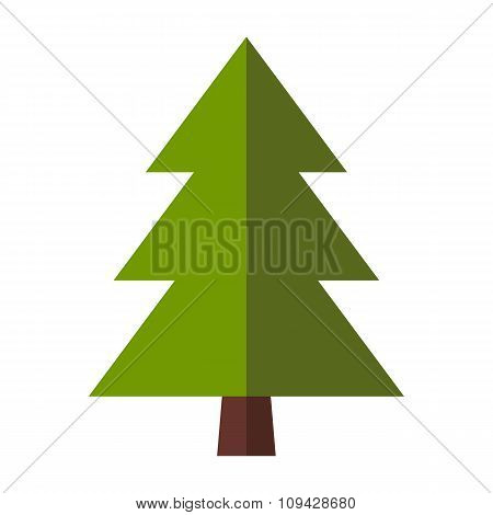 Fir-tree flat icon