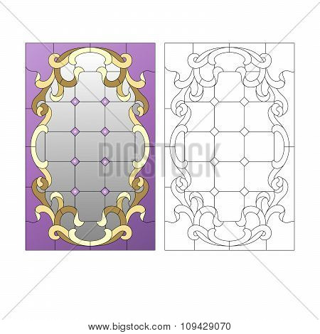 STAINED- GLASS PATTERN