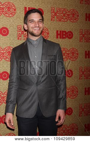 LOS ANGELES - JAN 12:  Evan Jonigkeit at the HBO 2014 Golden Globe Party at the Beverly Hilton Hotel on January 12, 2014 in Beverly Hills, CA