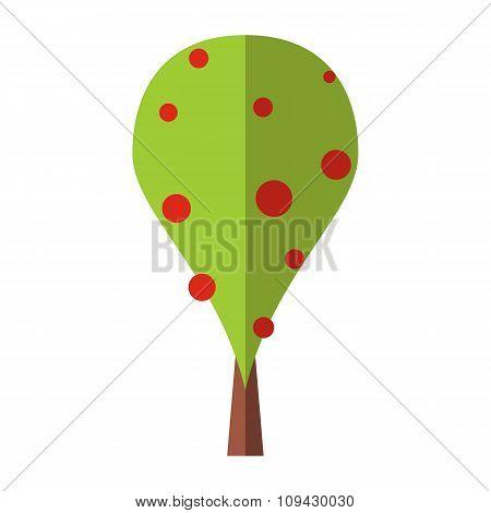 Best tree flat symbol