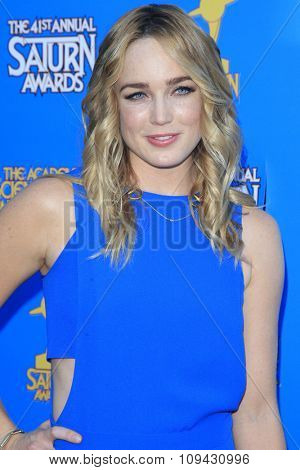 LOS ANGELES - JUN 25:  Caity Lotz at the 41st Annual Saturn Awards Arrivals at the The Castaways on June 25, 2015 in Burbank, CA