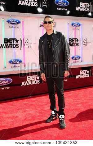LOS ANGELES - JUN 29:  G-Eazy at the 2014 BET Awards - Arrivals at the Nokia Theater at LA Live on June 29, 2014 in Los Angeles, CA