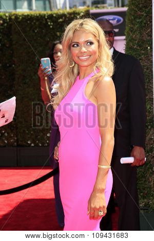 LOS ANGELES - JUN 29:  Jennifer Freeman at the 2014 BET Awards - Arrivals at the Nokia Theater at LA Live on June 29, 2014 in Los Angeles, CA
