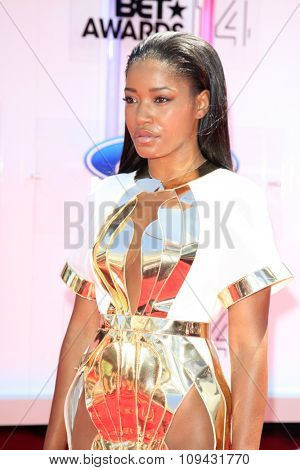 LOS ANGELES - JUN 29:  Keke Palmer at the 2014 BET Awards - Arrivals at the Nokia Theater at LA Live on June 29, 2014 in Los Angeles, CA