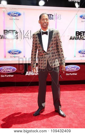 LOS ANGELES - JUN 29:  Tony Rock at the 2014 BET Awards - Arrivals at the Nokia Theater at LA Live on June 29, 2014 in Los Angeles, CA
