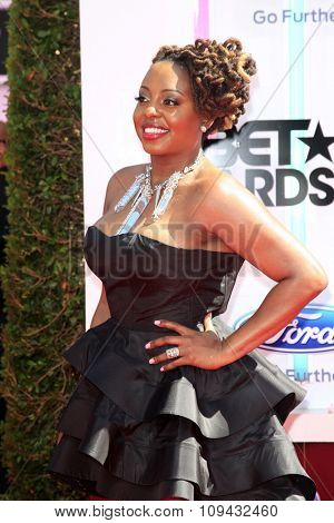 LOS ANGELES - JUN 29:  Ledisi at the 2014 BET Awards - Arrivals at the Nokia Theater at LA Live on June 29, 2014 in Los Angeles, CA
