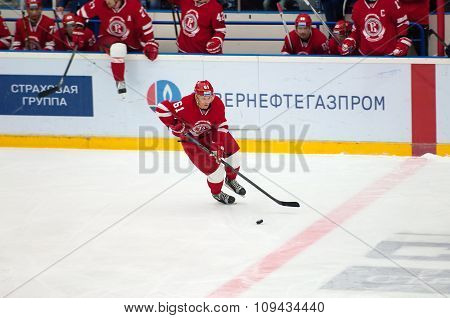 M. Afinogenov (61) In Action