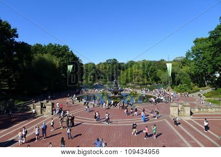 Bethesda Terrace in Central Park