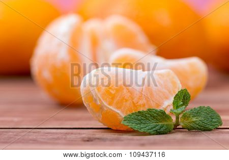 Segments Of Tangerines