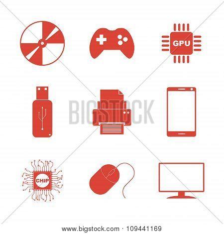 Technology Icons Set