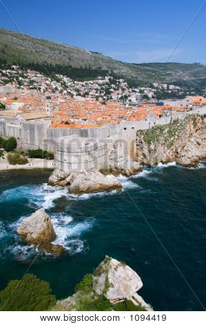 North Side Of Dubrovnik