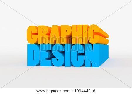 Big 3D Bold Text - Graphic Design