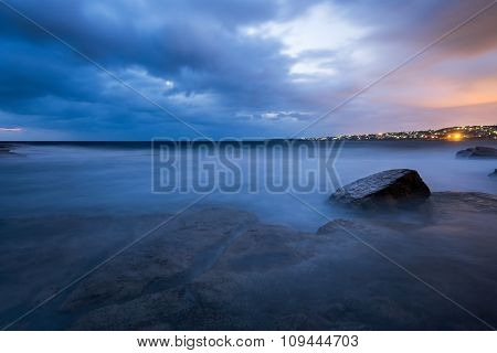 Blue Hour Seascape