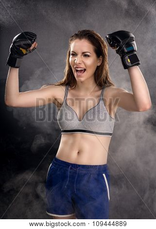 Woman Mma Fighter