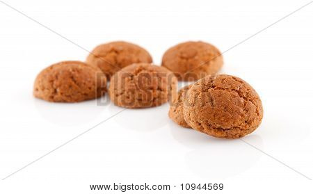 Couple Of Of Pepernoten (ginger Nuts)