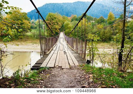 Suspension Hanging Bridge