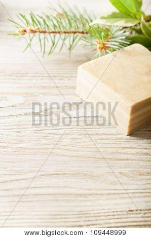 Bar Of Natural Herbal Handmade Soap